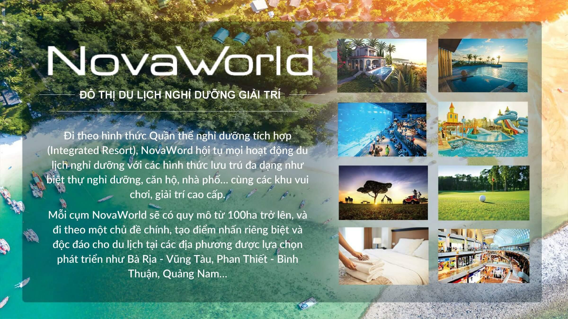 thương hiệu Novaworld