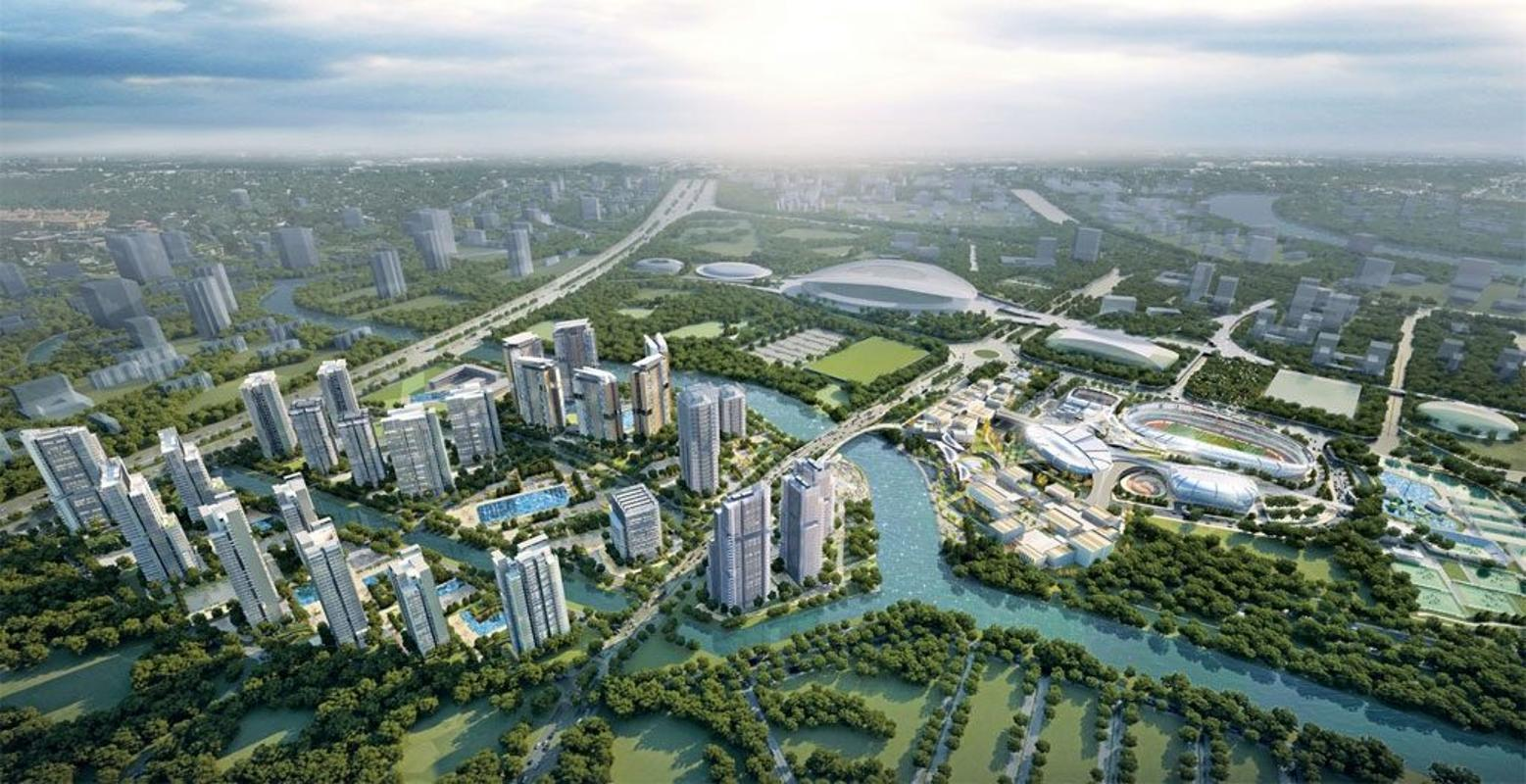 phoi canh saigon sport city