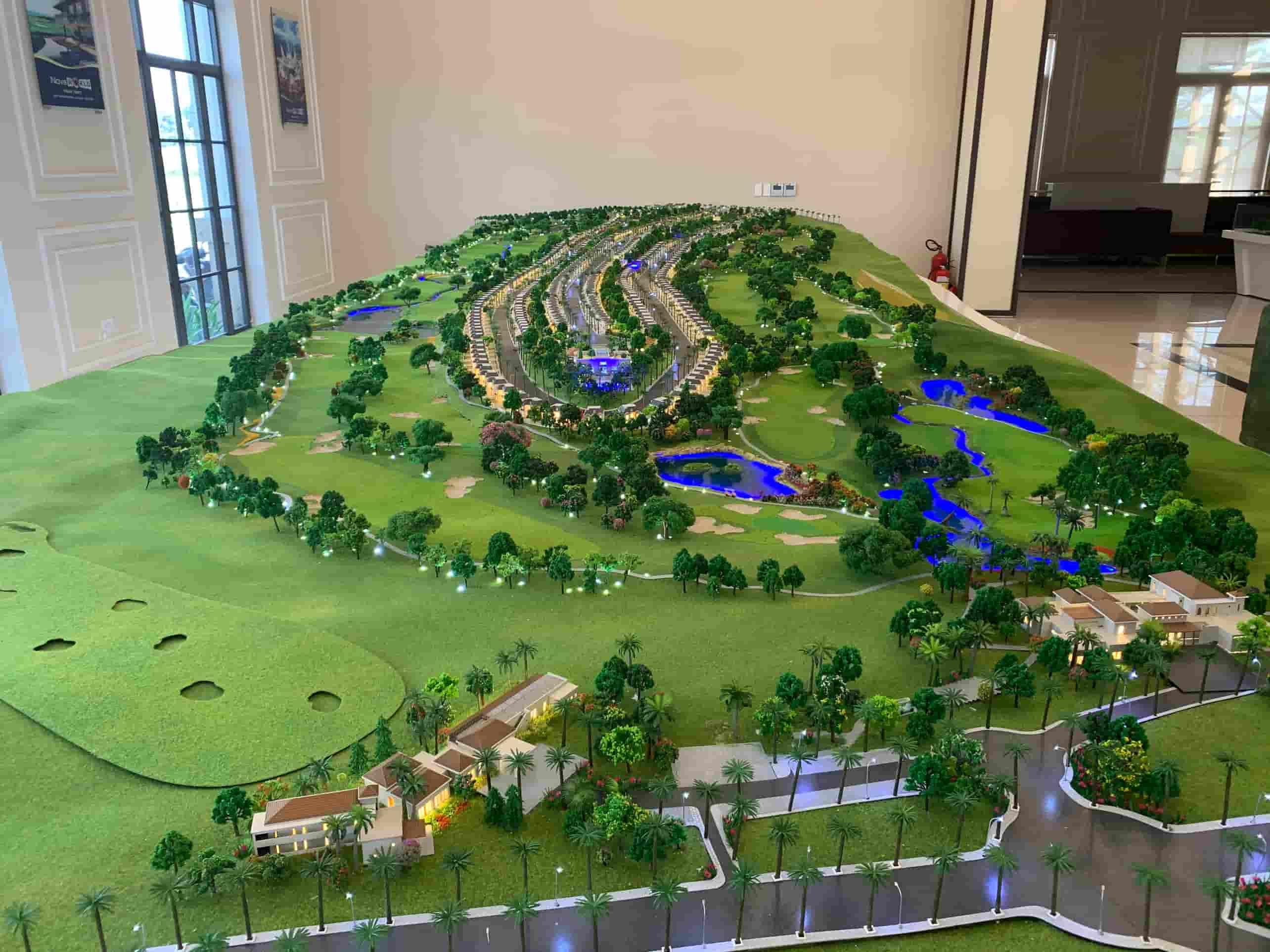 Mô hình biệt thự Golf Villas