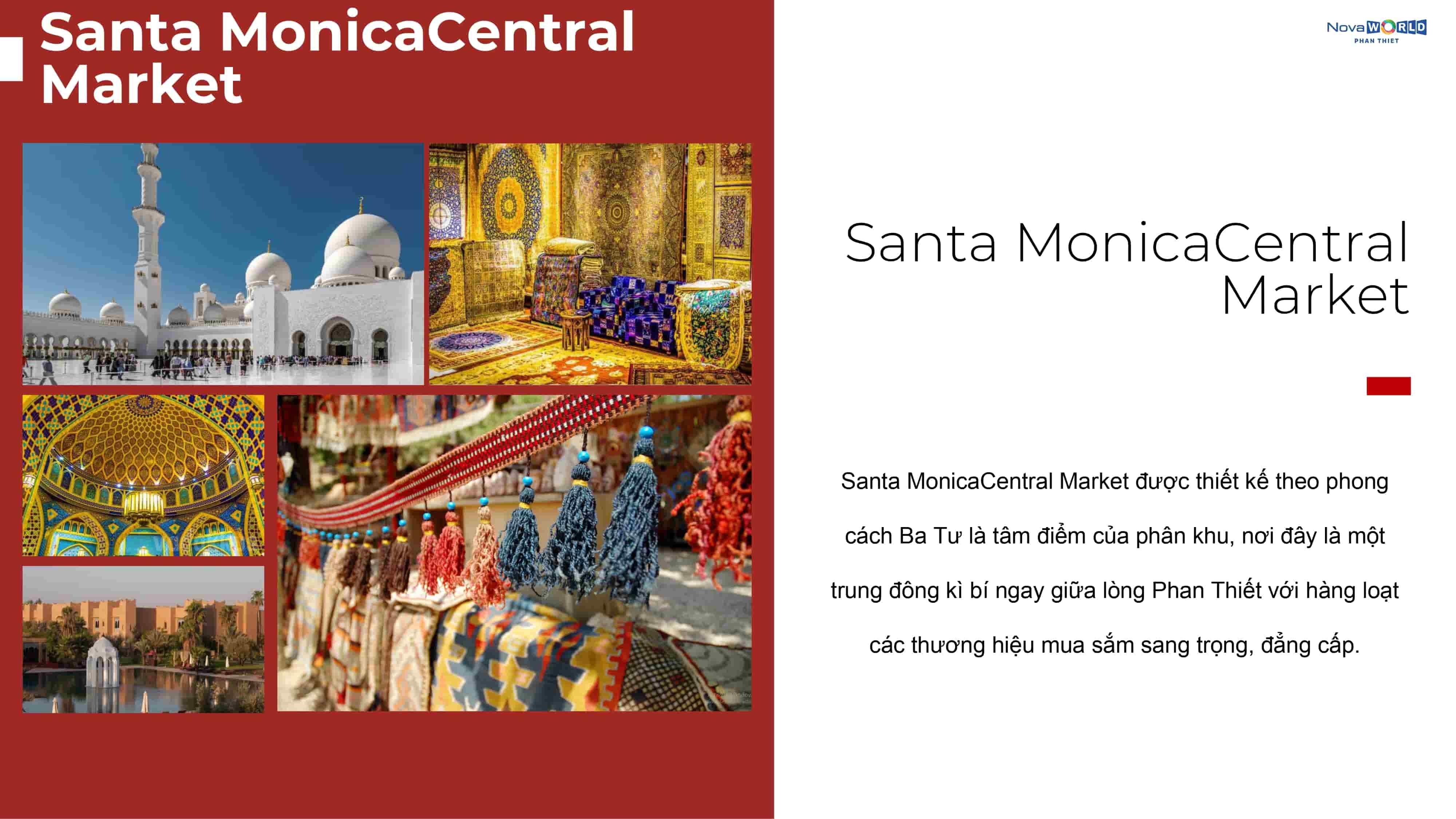 Tiện ích Chợ Batu Santa Monica