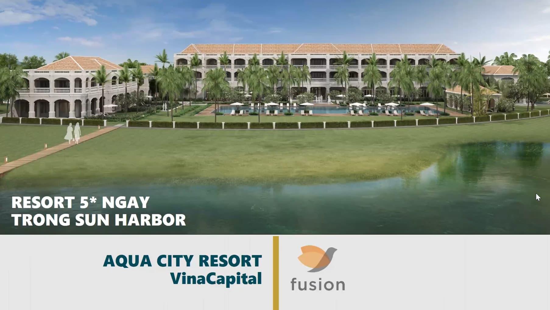 Resort aqua city