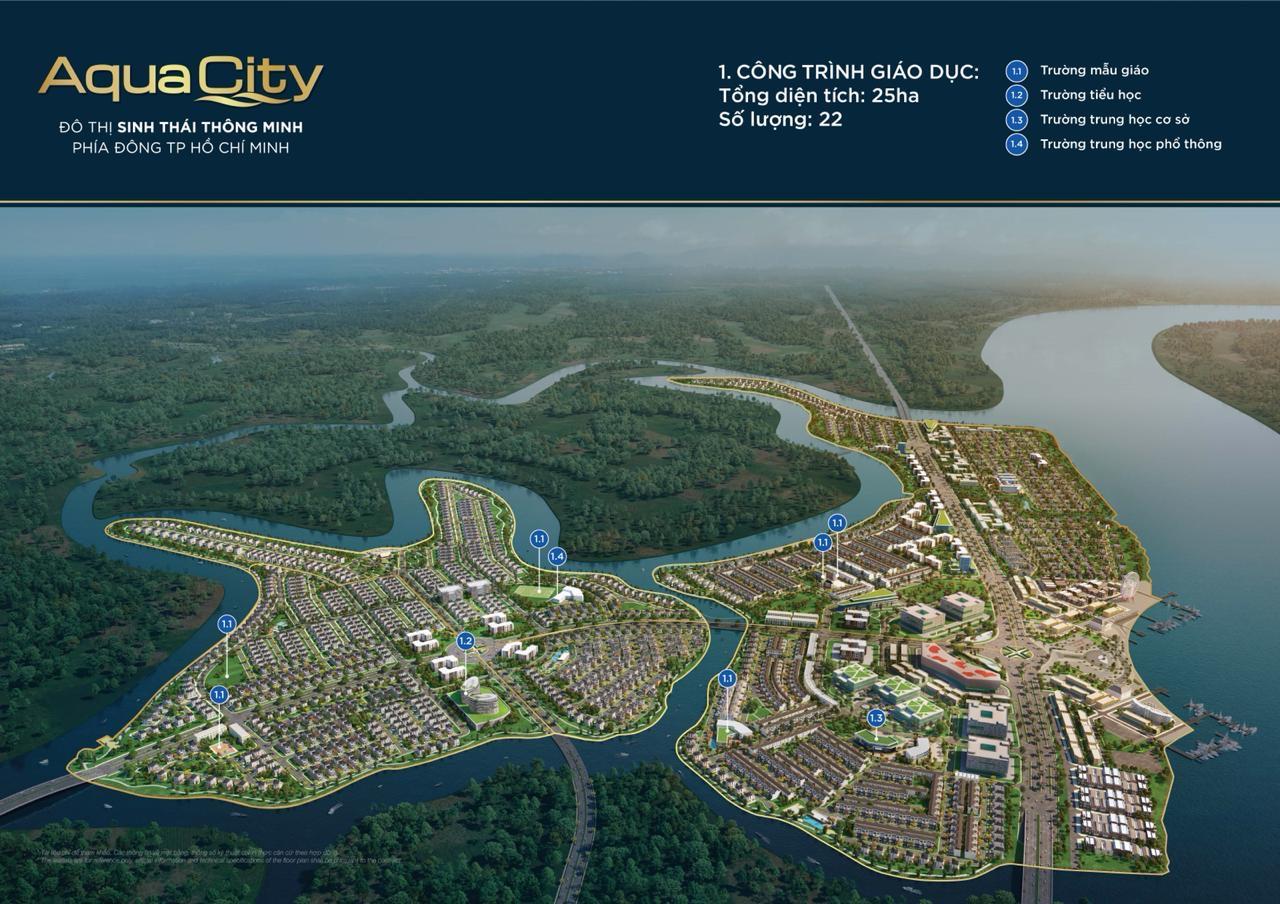 Tiện ích nội khu của đô thị sinh thái Aqua