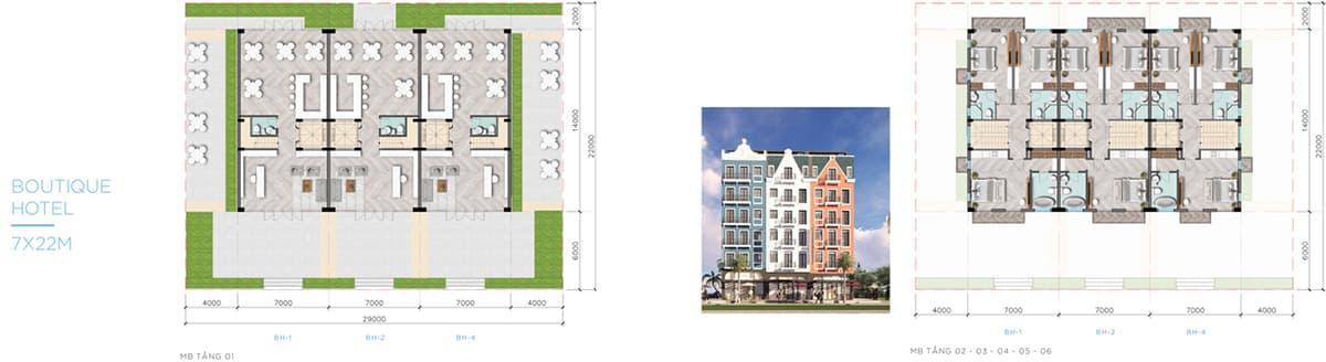chi tiết mẫu nhà shophouse, biệt thự